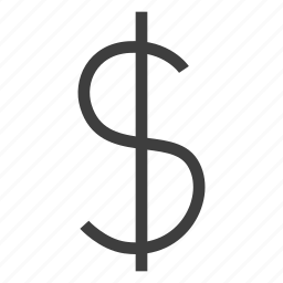 currency, dollar, financial, money icon