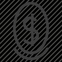 egg, money icon