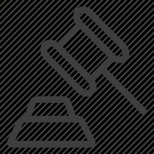 Hammer, tool icon - Download on Iconfinder on Iconfinder