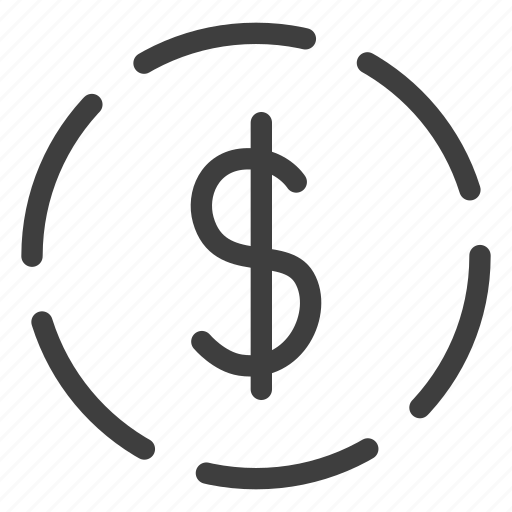 coin, currency, money, payment icon