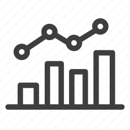 analytics, chart, data, diagram, sales icon