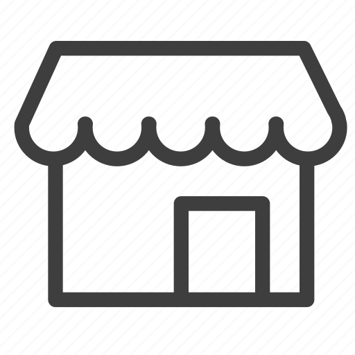 business, shop icon