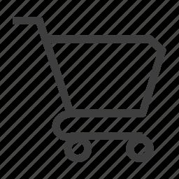 cart, shopping, shoppingcart icon
