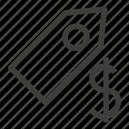 ecommerce, label, price, tag icon