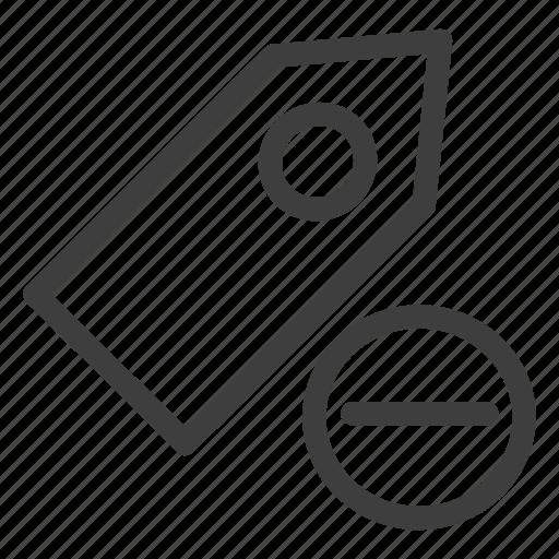 Remove, tag, delete, label icon - Download on Iconfinder