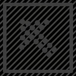 arrow, arrows, direction, left, upper icon
