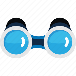 binocular, discovery, explore, find, search icon