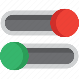 off, on, power, settings, switch, switcher, switches icon
