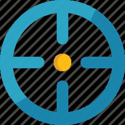 aim, goal, goals, target icon