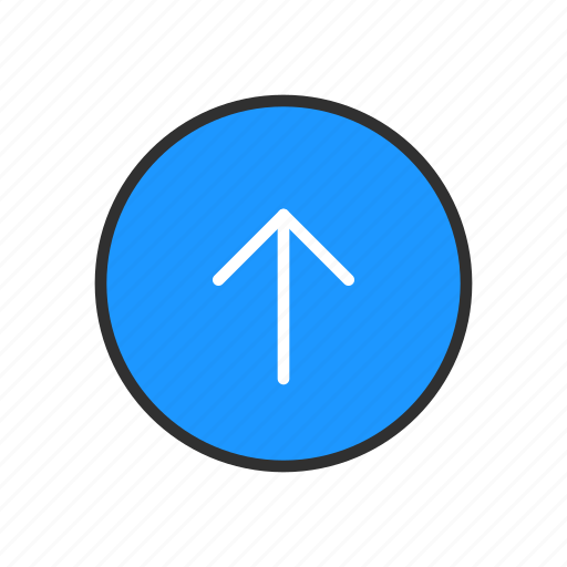 direction, navigate, north, pointer icon