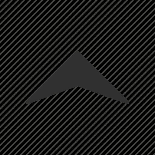 direction, navigate, pointer, upload icon