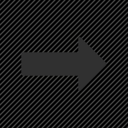 direction, navigate, next, pointer icon