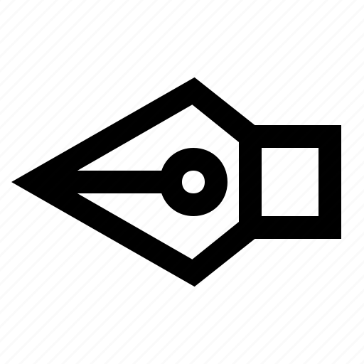 diagonal, expand, left, line, pen, sign, warning icon