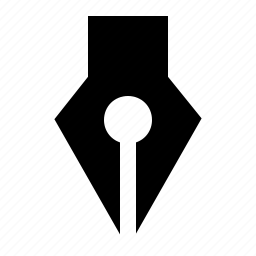 diagonal, down, expand, line, pen, sign, warning icon