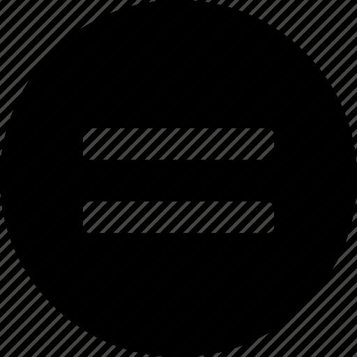 circle circular equal equal equal sign equals math mathematics
