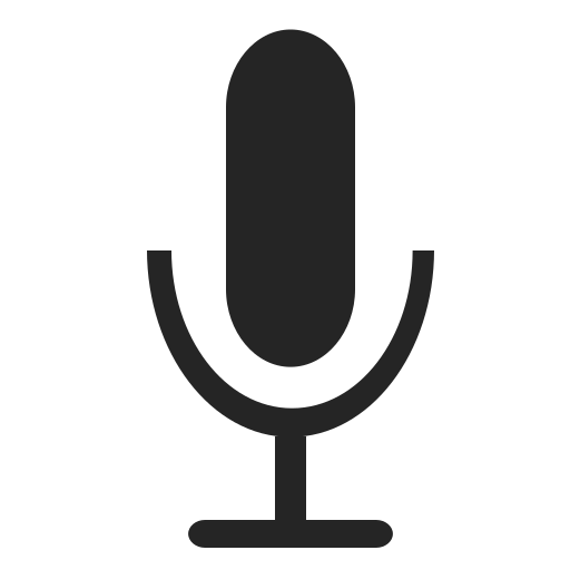 Document Documents File Format Microphone Record Icon