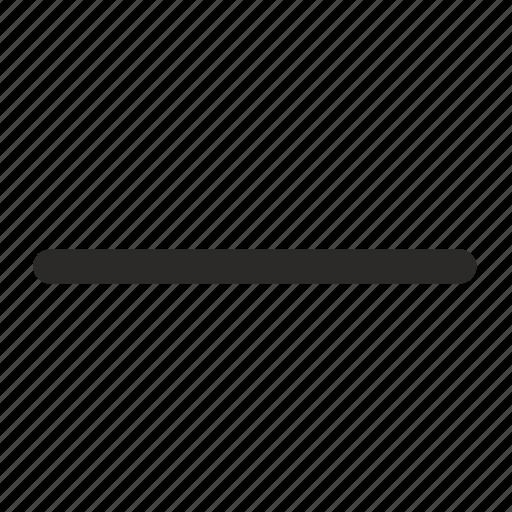 function, math, minus, operation icon