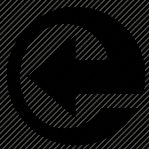 arrow, arrow left, design, direction, left, sign, way icon