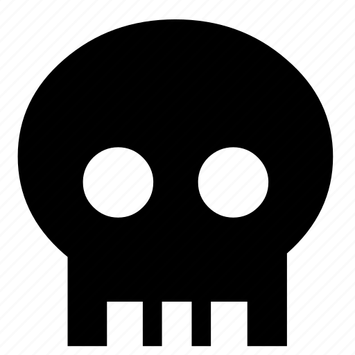 bones, dead, head, human, human skull, skeleton, skull icon