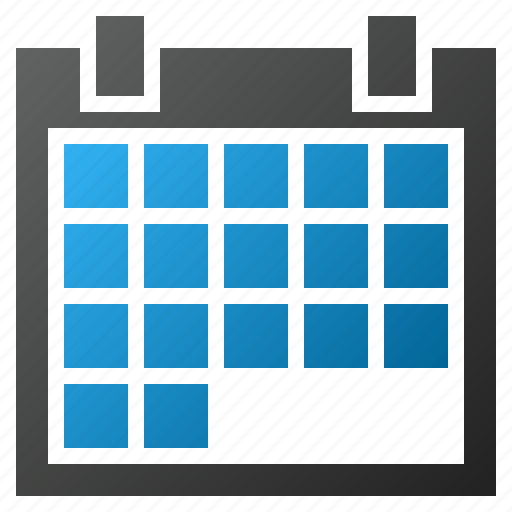 appointment, calendar, diary, grid, plan, schedule, time table icon