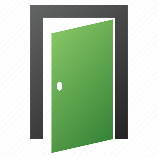 close, door, exit, log out, login, logout, open icon