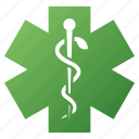 ambulance, doctor, emergency, health care, life star, medical symbol, medicine icon