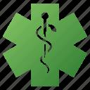 ambulance, doctor, emergency, health care, life star, medical symbol, medicine