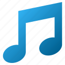 audio, midi, multimedia, music notes, musical note, notation, play sound icon
