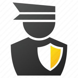 cap, cop, guard, police officer, policeman, safety, sheriff icon