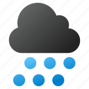 cloud, drop, forecast, rain, rainy, storm, weather icon