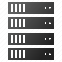 archive, computer, data, database, server rack, store, system icon