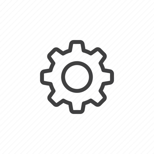 cog, configuration, gear, options, preferences, settings, tools icon