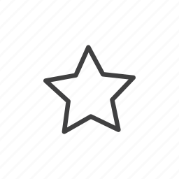 bookmark, favorite, favorites, favourite, like, love, star icon