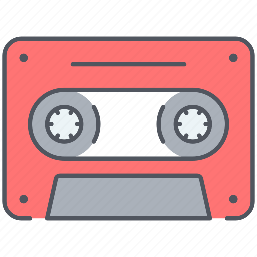 audio, casette, melody, music, play, song, sound icon