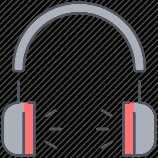 audio, earbuds, earphone, headphones, listen, music, sound icon