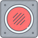 audio, bass, music, speaker, subwoofer, volume, woofer icon