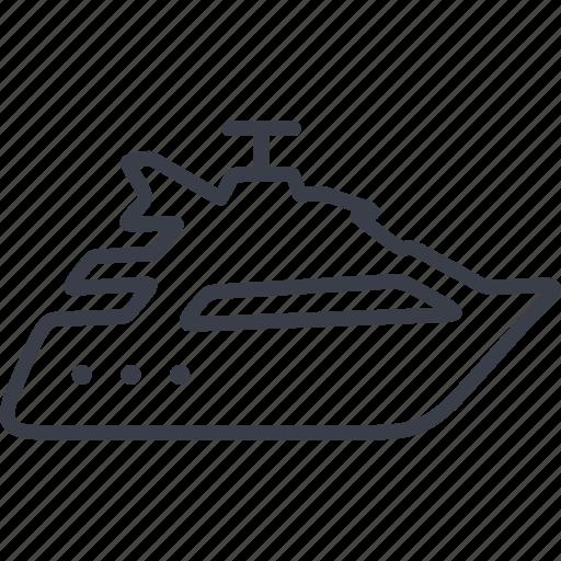 cruise, sea trip, singapore, yacht icon