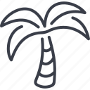 beach, palm, singapore, tree icon