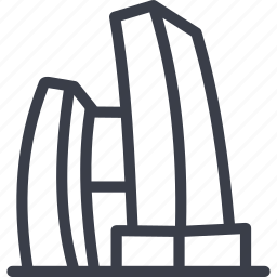 construction, design, singapore, singapore boilding icon