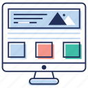 business intelligence dashboard, data analysis, seo, web analytics, web statistics icon