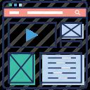 business intelligence dashboard, data analysis, executive dashboard, seo, web dashboard, web statistics icon
