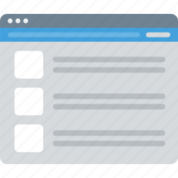 layout, sitemap, ui, web, wireframe icon