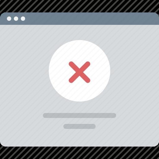 error, layout, sitemap, ui, web, wireframe icon