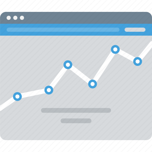 chart, graph, sitemap, stats, wireframe icon