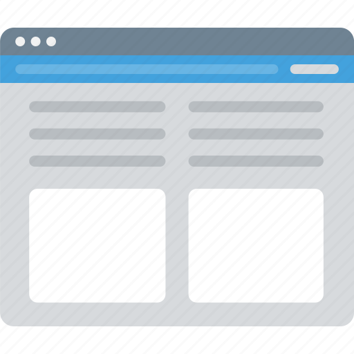 Browser, layout, sitemap, ui, web, wireframe icon - Download on Iconfinder