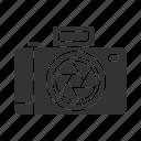 camera, digicam, digital, photo, photocamera, picture, shooting icon
