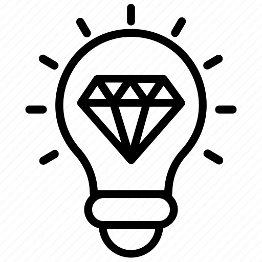 big idea, excellent idea, good idea, great idea, innovative icon