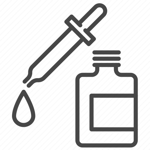 beauty, bottle, care, cosmetic, oil, serum, skin icon