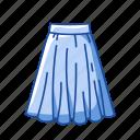 clothing, fashion, garment, gored skirt, maxi skirt, plated skirt, skirt icon