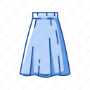 a-line skirt, clothing, dress, fashion, garment, maxi skirt, skirt icon